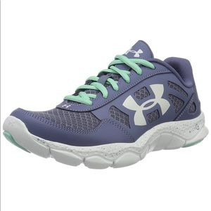 Under Armour Micro G Engage in Aurora Purple - NWT